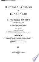 El Ateísmo y la sintaxis y el positivismo