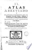 El Atlas abreviado, 2 (2a part)