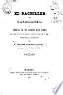 El bachiller de Salamanca ó Aventuras de don Querubin de la Ronda