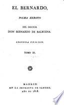 El Bernardo, poema heroyco