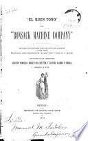 El Buen Tono y la Bonsack Machine Company