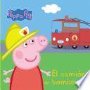 El camión de bomberos (Peppa Pig. Todo cartón)