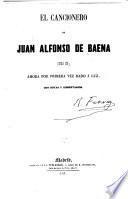El cancionero de Juan Alfonso de Baena (siglo XV)