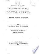 El caso extraño del doctor Jekyll