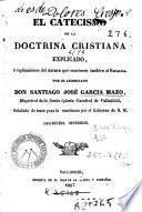 El Catecismo de la doctrina cristiana explicado, ó, Explicaciones del Astete que convienen tambien al Ripalda