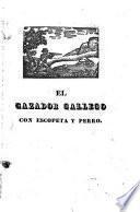 El cazador gallego con escopeta y perro