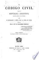 El Código civil de la República Argentina