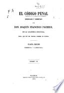 El código penal: 534 p.- Tomo III