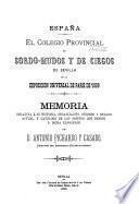 El Colegio provincial de sordo-mudos y de ciecos de Sevilla en la exposición universal de Paris de 1889