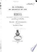 El Cólera en Valencia en 1885
