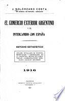 El comercio exterior argentina y el intercambio con España