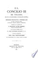 El Concilio III de Toledo