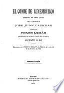 El conde de Luxemburgo