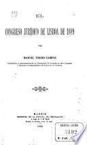 El Congreso jurídico de Lisboa de 1889