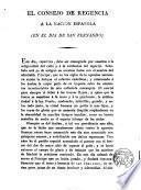 El Consejo de Regencia a la Nación Española