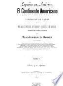 El Continente americano: Cánovas de Castillo, A. Criterio histórico