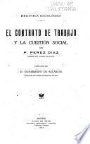 El contrato de trabajo y la cuestión social
