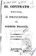 El contrato social, ó principios del derecho politico
