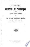 El coronel Cristóbal de Mondragón