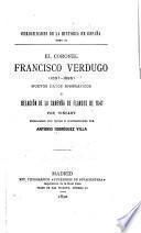 El coronel Francisco Verdugo, 1537-1595