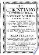 El cristiano instruido en su ley, 3
