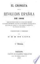 El cronista de la revolución española de 1868