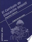 El currículo de Educación Infantil