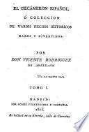 El decameron Espanol o coleccion de varios hechos historicos (etc.)