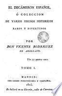 El Decámeron español ó Colección de varios hechos históricos, raros y entretenidos, 1