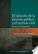 El derecho de la función pública y el servicio civil