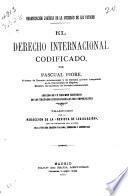 El derecho internacional codificado y su sanción jurídica