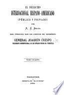 El derecho internacional hispano-americano