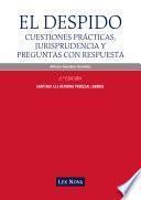 El despido. Cuestiones prácticas, jurisprudencia y preguntas con respuesta (e-book)