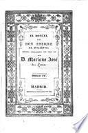 El Doncel de Don Enrique el Doliente. Tomo IV