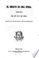 El en sayo de una opera, zarzuela