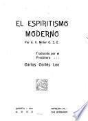 El espiritismo moderno