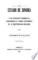 El Estado de Sonora y su situación económica