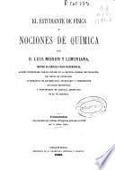 El estudiante de física y nociones de química