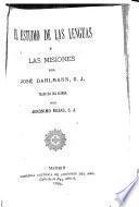 El estudio de las lenguas y las misiones