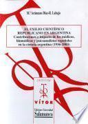 El exilio científico republicano en Argentina.