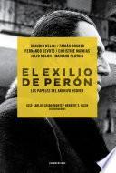 El exilio de Perón