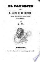 El favorito de D. Alfonso XI de Castilla