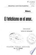 El fetichismo en el amor