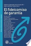 EL FIDEICOMISO DE GARANTÍA. Análisis integral. Función y régimen