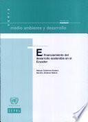 El financiamiento del desarrollo sostenible en el Ecuador
