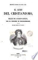 El Genio del cristianismo, ó, Bellezas de la religion cristiana