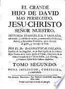 El Grande hijo de David mas perseguido, Jesu-Christo Señor Nuestro ..., 2