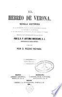 El hebreo de Verona,novela histórica...