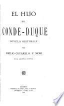 El hijo del Conde-Duque