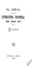 El ideal en la literatura española del siglo XVI